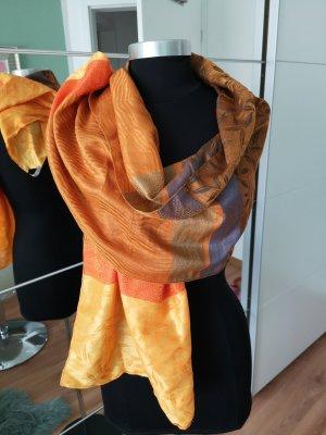 Codello Zijden sjaal veelkleurig Zijde