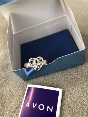 Wunderschöner Silberring * Herz * echtes Silber 925 * Neu in Originalverpackung