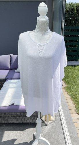 100% Fashion Jersey kimono blanco