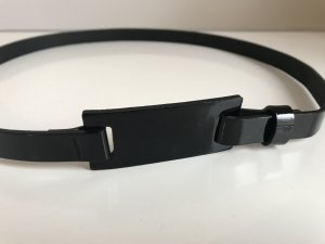 Strenesse Cinturón pélvico negro Cuero
