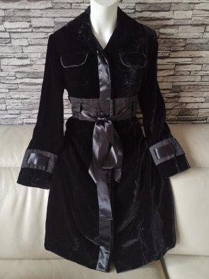 Emanuel Ungaro Heavy Pea Coat black