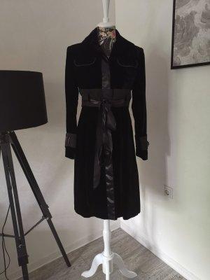 Ungaro Cappotto in pile nero