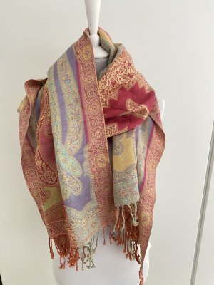 Wunderschöner verschieden farbiger Schal mit Paisley Muster