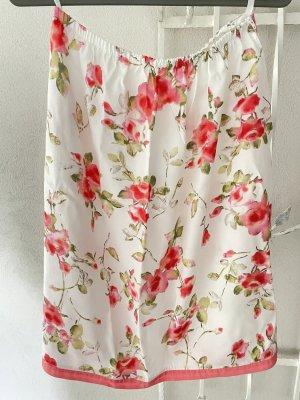 Vintage Spódnica midi Wielokolorowy