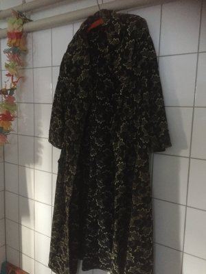 Colombetti Dal 1947 -Italy Bag-Vintage 1960 Manteau long noir