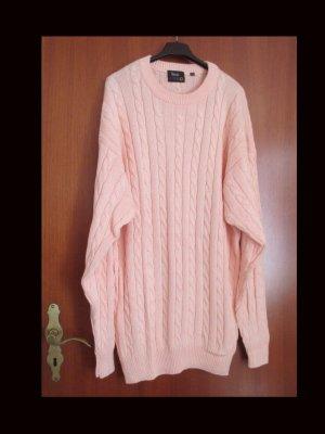 Basic Maglione lavorato a maglia color carne Cotone