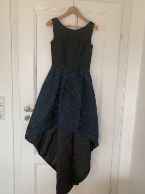 Wunderschönes Abendkleid in schwarz & dunkelblau