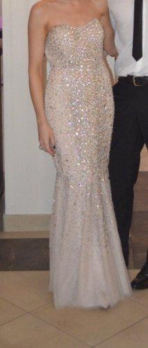 Wunderschönes Abendkleid mit Strass von Asos in der Große 34