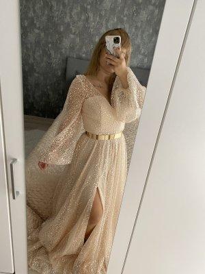 Robe de bal crème
