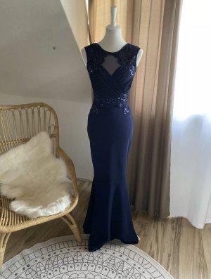Lipsy Evening Dress blue-dark blue