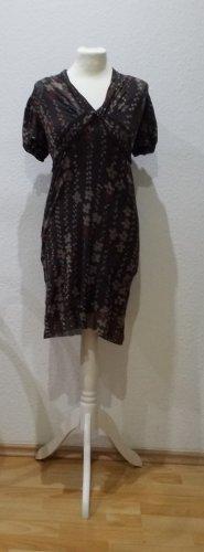 Kookai Robe à manches courtes brun foncé