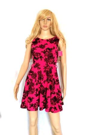 Tkmaxx Midi Dress black-pink