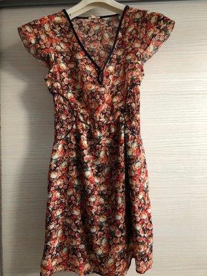 Esprit Sukienka boho Wielokolorowy Tkanina z mieszanych włókien