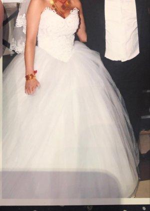 Keine Marke Robe de mariée blanc