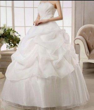 Wunderschönes Brautkleid Hochzeitskleid  A-Linie  Prinzessin  Gr M, 40 Neu Ovp Ungetragen, hinten zum Schnüren  neu