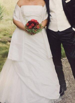 Agnes Vestido de novia crema