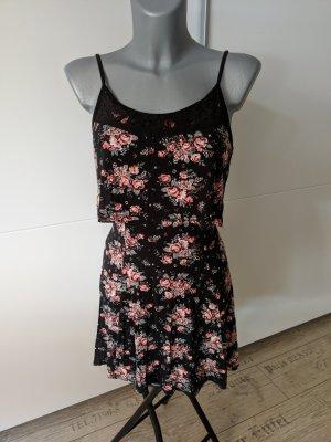 wunderschönes camisole Kleid minikleid von NEW LOOK petite Größe 4 XS 32 34