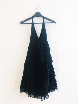 Wunderschönes Chiffon Volant Kleid Zara