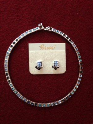 wunderschönes Collier von Grossé mit passenden Ohrringen