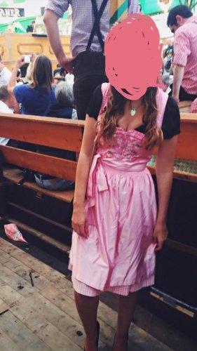 Angermaier Dirndl roségoud-roze