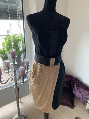 Elisabetta Franchi Corsage Dress black-beige