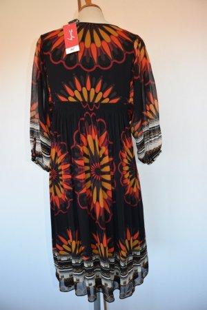 Wunderschönes Empire Kleid von Derhy aus Seide - M - neu mit Etikett