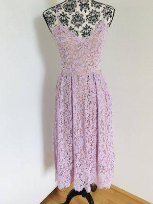 H&M Robe en dentelle violet