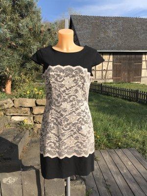 Wunderschönes festliches Kleid * Cocktailkleid mit Spitzenbesatz * 40/42