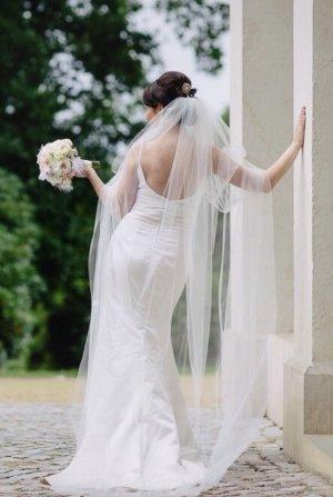 Agnes Bridal Dreams by MODE DE POL Wedding Dress white