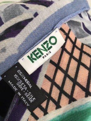 Wunderschönes großes Tuch von Kenzo aus Modal und Seide.