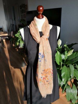 Hallhuber Foulard multicolore tissu mixte