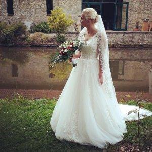 wunderschönes Hochzeitskleid - Einzelstück