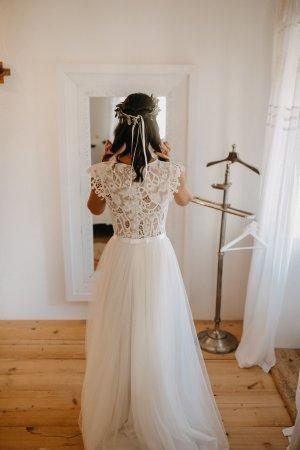 Suknia ślubna Wielokolorowy Bawełna
