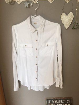 Hollister Shirt met lange mouwen wit