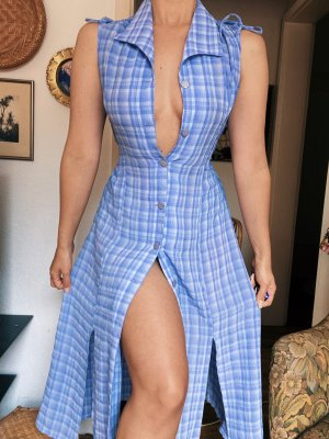 Wunderschönes kariertes vintage Kleid Gr. M