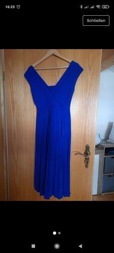 Selected Vestido largo azul