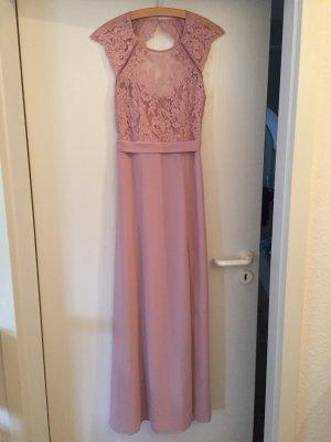 Wunderschönes Kleid, altrosa, rückenfrei, Gr 38