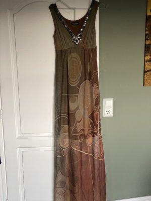 Ana Alcazar Robe longue multicolore