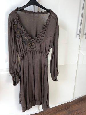 Sweat Dress brown