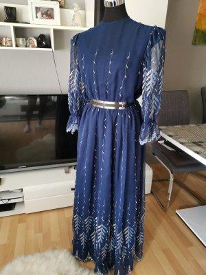 Wunderschönes Kleid mit Strickerei, Abend Kleid, Must Have, Höhe Qualität
