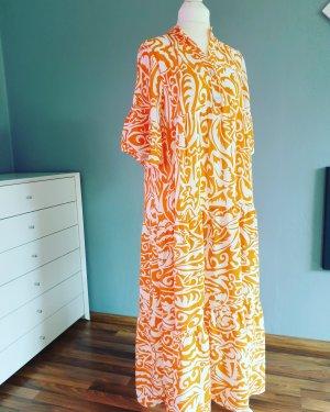 Zwillingsherz Tunic Dress white-orange