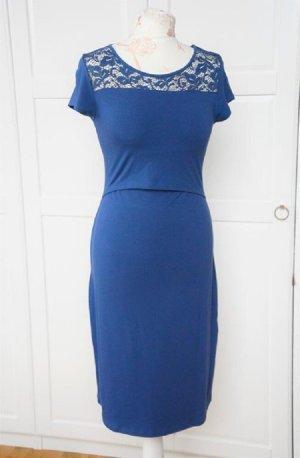 Wunderschönes Kleid Stillkleid Umstandsmode Schwangerschaftskleid Queen Mum Gr. XS