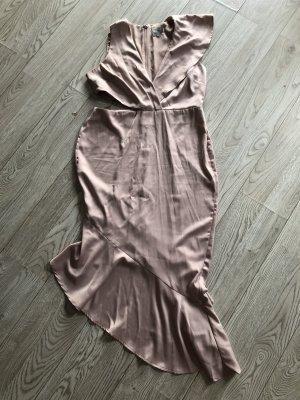 Asos Sukienka z wycięciem jasny różowy