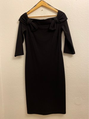 Barbara Schwarzer Sheath Dress black polyamide