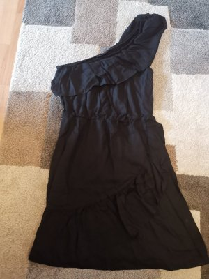 Bodyflirt Off-The-Shoulder Dress black mixture fibre