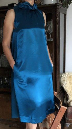 COS Sukienka midi petrol-turkusowy