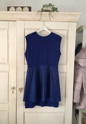 COS Vestido peplum azul
