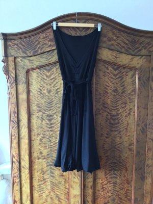Hallhuber Balloon Dress black cotton