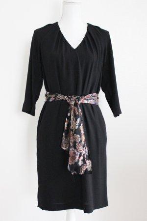 Wunderschönes Kleid von Rene Lezard, schwarz, Gr. 34