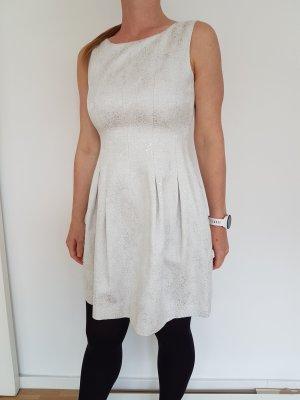 Wunderschönes Kleid weiss-silber